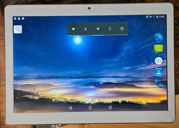 XIDO Z120/3G Display Qualität