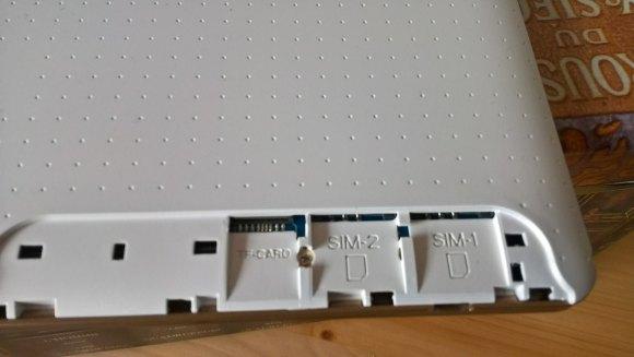 XIDO Z120 / 3G Dual Sim-Kartenslotes
