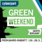 cyberport green weekend