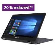 """ASUS ZenBook Flip UX360CA 13"""" 2 in 1 PC mit 20% Rabatt"""