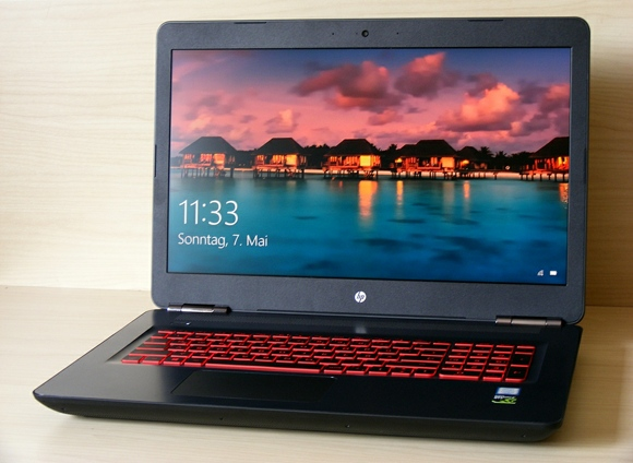 Testbericht HP Omen w240ng Gaming Notebook