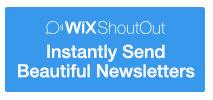 Wix Shoutout - komfortabel E-Mail Nrwsletter verwalten und erstellen