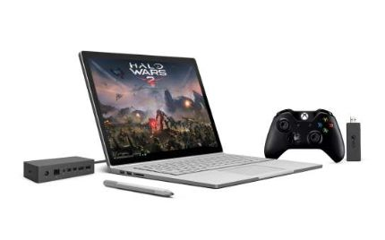 Surface Book inkl. Surface Dock und Xbox Controller + Wireless Adapter für Windows