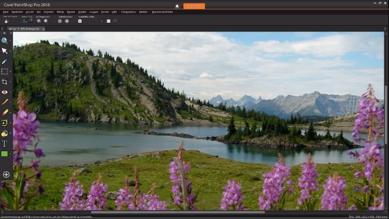 Corel PaintShop Pro 2018 mit neuem vereinfachten Arbeitsbereich
