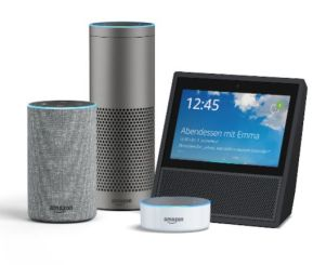amazon echo familie