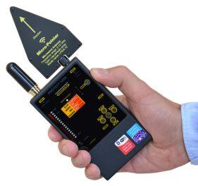 Detektor für Abhörgeräte und Kameras