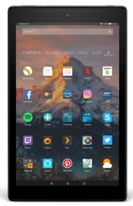 Amazon Fire HD 10 Tablet 2017 mit Alexa Hands-free