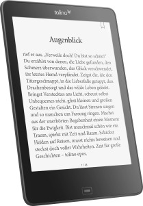 "tolino epos: eBook Reader mit 7.8"" und smartLight"
