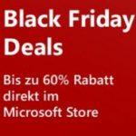 Microsoft Black Friday Angebote mit bis zu 60% Rabatt