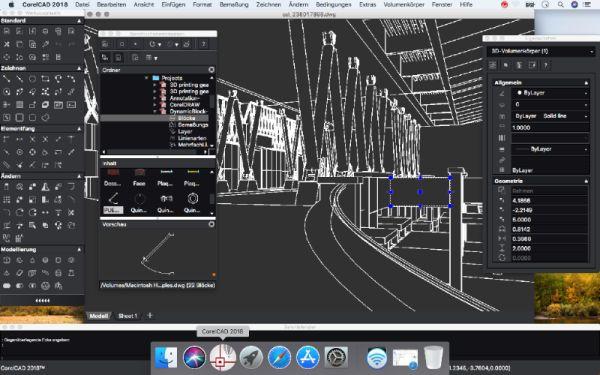 Anpassungsfähig: Die neuen Bearbeitungsfunktionen in CorelCAD gestatten die intuitive Anpassung von 3D-Modellen.