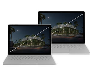 "Microsoft Surface Book 2 in 13.5"" und 15"""