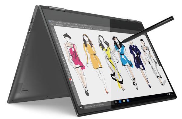 "Lenovo Yoga 730 15.6"" 2018 mit Active Pen 2 - Support"
