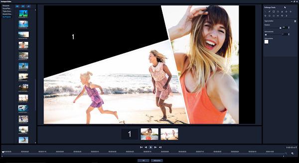 VideoStudio Ultimate 2018 Split Screen Video DE