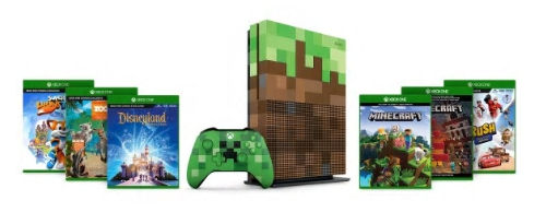 Xbox One S 1 TB Family-Bundle mit 5 Spielen