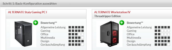 Alternate 1-2-3 PC-Konfigurator