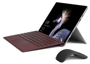 Surface Pro Bundle inkl. Surface Pro Type Cover und Surface Arc Maus