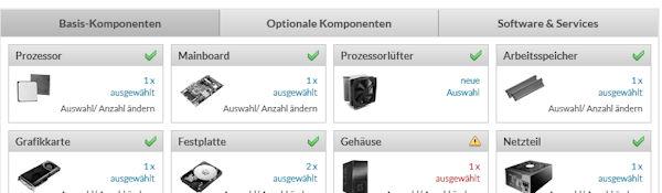 Alternate PC Konfigurator - eigenen PC selber zusammenstellen
