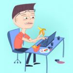 Infografik: Sind Sie ein Workaholic mit Test von Wirke Projektmanagement Software