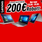 Lenovo Sales Week mit bis zu 200 Euro Rabatt auf Lenovo IdeaPads und Lenovo Yoga
