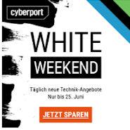 Cyberport White Weeked mit Notebooks und mehr als Top Angebote