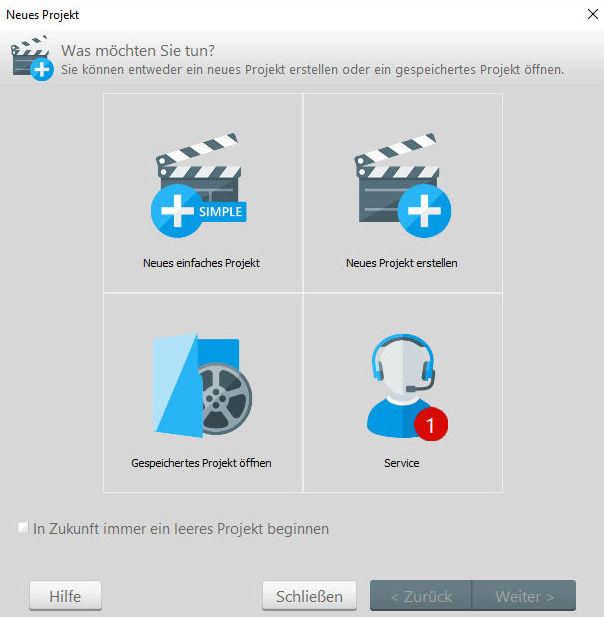 Ashampoo Slideshow Studio HD4 - Slideshows mit dem Assistenten erstellen