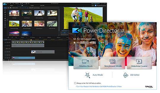 PowerDirector 17 - Anpassbare Design Tools