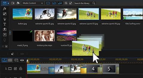 PowerDirector Express Projects - Videosin nur 3 Schritten anlegen