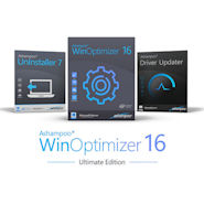 Ashampoo WinOptimizer Ultimate Edition mit UNinstaller und Driver Updater
