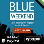Cyberport Blue Weekend