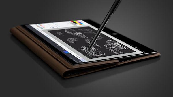 HP Spectre Folio mit Stift
