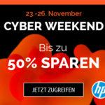 HP Black Friday & Cyber Weekend 2018 mit bis zu 50% Rabatt und vielen Angeboten von Notebooks bis Zubehör