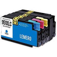 LEMERO Kompatible Tintenpatronen HP 950 XL / 951 XL für HP Officejet Pro 8100 und andere