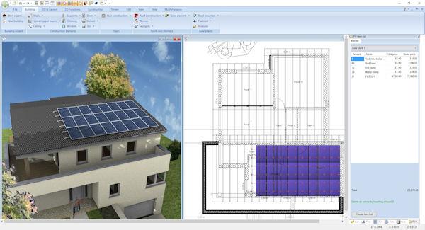 Ashampoo Home Design 5 Photovoltaik