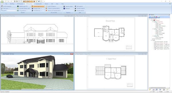 Ashampoo Home-Design 5 planen und gestalten