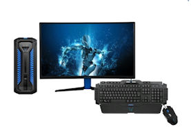 "Gaming Bundle mit Medion ERAZER® X67103. 27"" Curved Monitor, Gaming Maus und Gaming Tastatur"