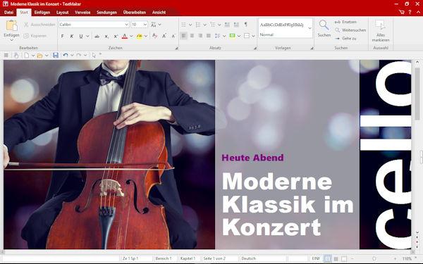 SoftMaker FreeOffice TextMaker mit Jubiläumsupdate
