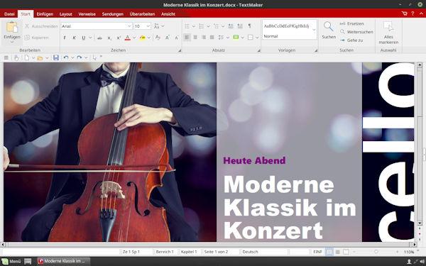 SoftMaker FreeOffice TextMaker unter Linux