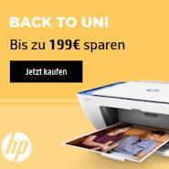 HP Back To Uni 2019 - bis zu 199 Euro sparen