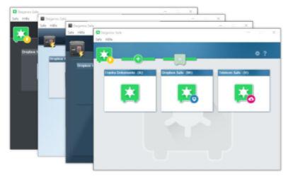Steganos-Safe 21 - vertauliche Daten auf dem eigenen PC oder in der Cloud sicher im digitalen Safe verschlüsseln