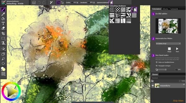 Corel Painter Essentials 7 Interface
