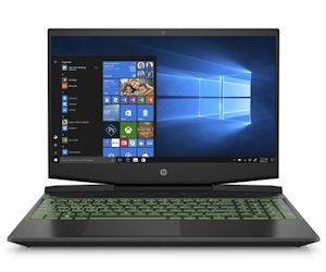 HP Gaming Pavilion-15-dk0740ng empfehlenswertes leises Gaming Notebook mit gutem Display