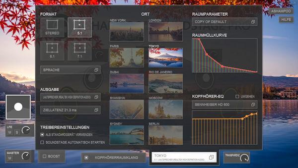Ashampoo® Soundstage Pro - virtueller Surround Sound für jeden Kopfhörer