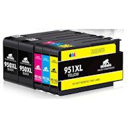 IKONG 950 XL 951 XL Ersatz für HP 950XL 951XL Druckerpatronen