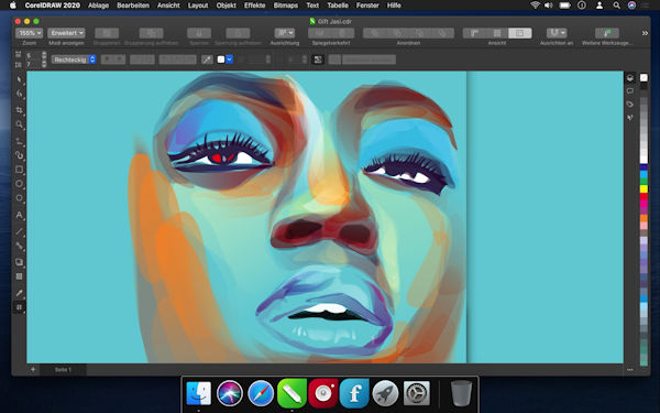 CorelDraw 2020 native Mac-Version