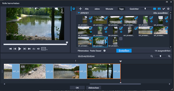 Corel VideoStudio Highlight Reel im Test