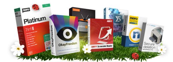 Nero Frühlingsbundle mit umfangreicher Multimedia Software nklusive Nero Platinum Suite