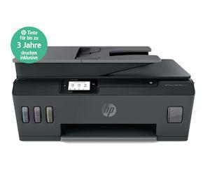 HP Smart Tank Plus mit kostengünstiger Tinte zum Nachfüllen