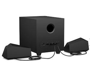 HP Gaming-Lautsprecher X1000 mit LED-Beleuchtung und Omen Command Center Support