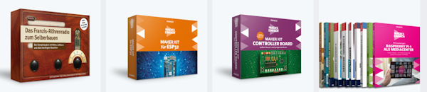 FRANZIS Maker-Kits