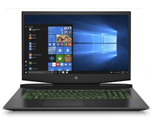 HP Pavilion Gaming Notebook 17-cd1750ng